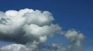 Timelapse. Cumulonimbus clouds Stock Footage