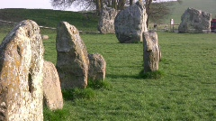 Avebury04 Stock Footage