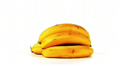 Pile of bananas, rotating in a loop, HD 720 - stock footage
