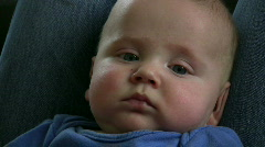 Baby Expressions Stock Footage