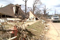 Storm Damage 14 - stock footage