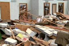 Storm Damage 24 - stock footage