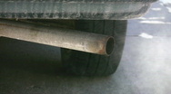Car exhaust. Stock Footage