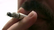 Stock Video Footage of Smoking Addiction