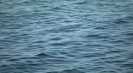 Beautiful scenic of calm blue water (High Definition) Stock Footage
