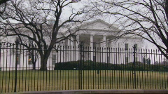 White House North Stock Footage