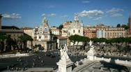 Stock Video Footage of Rome skyline