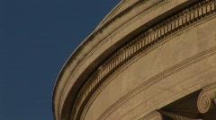 Jefferson Memorial Column - Tilt Down - stock footage