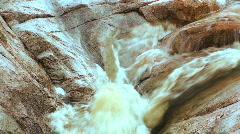 Rushing waterfall - HD  Stock Footage