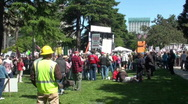 Stock Video Footage of tea party, anti-tax rally
