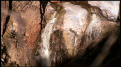 Waterfall zoom out - HD  Stock Footage
