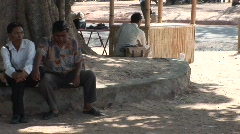 Cambodian people Stock Footage