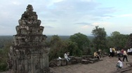 Stock Video Footage of Sightseeing at Angkor Wat