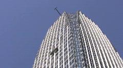 Tokyo skyscraper Stock Footage