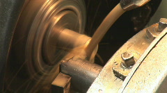 Old plant machine 06 Stock Footage