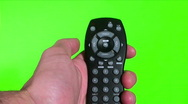 Stock Video Footage of Remote against green screen - HD