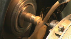 Old plant machine 07 Stock Footage