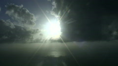Sun and clouds - Time lapse Stock Footage