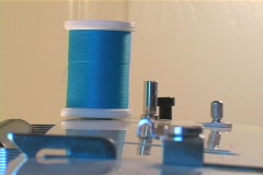 Sewing 3 - stock footage