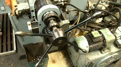 Old plant machine 14 Stock Footage