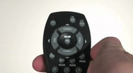 Stock Video Footage of Remote control against white - HD