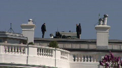 Secret Service Snipers Stock Footage