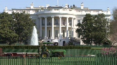 White House Stock Footage