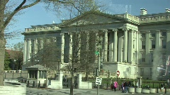 Department Of The Treasuresy Stock Footage