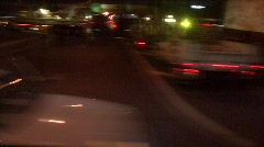 Big Truck Roll Over Motion Blur - stock footage
