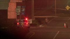Police Car In Ybor City Stock Footage