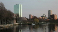 Stock Video Footage of Boston Skyline