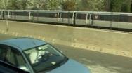 D.C. Metro Train Stock Footage