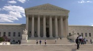 Stock Video Footage of Supreme Court Building