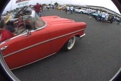 57 bel air convertible Stock Footage
