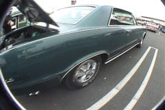 66 GTO green Stock Footage