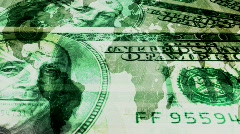 Money makes the world go round  Stock Footage