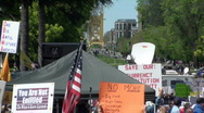 Stock Video Footage of tea party, tax rebellion