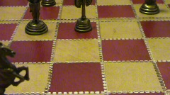Chess knight Stock Footage