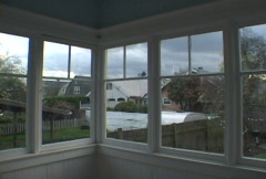 Windows In House Time Lapse - stock footage
