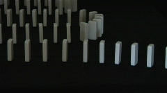 Domino fx 720p Stock Footage