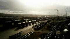 Rail yard Stock Footage