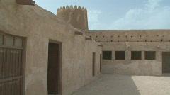 Fort Al Zubarah 2 Stock Footage