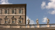 Stock Video Footage of Apostolic Palace in Vatican City