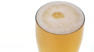 Stock Video Footage of Glass of beer seamless loop - HD