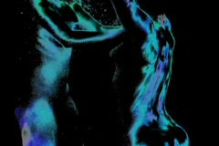 Underwater nude art Stock Footage