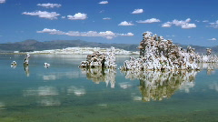Mono Lake, California - stock footage