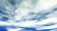 Clouds. Titl camera move Stock Footage