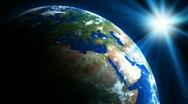 Earth HD loop Stock Footage