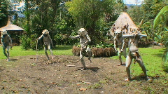 Editorial,  Mudmen of Papua New Guinea   - stock footage