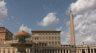 Stock Video Footage of Saint Peter's Square - Vatican City
